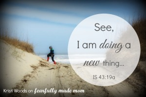 New Thing for fearfully made mom