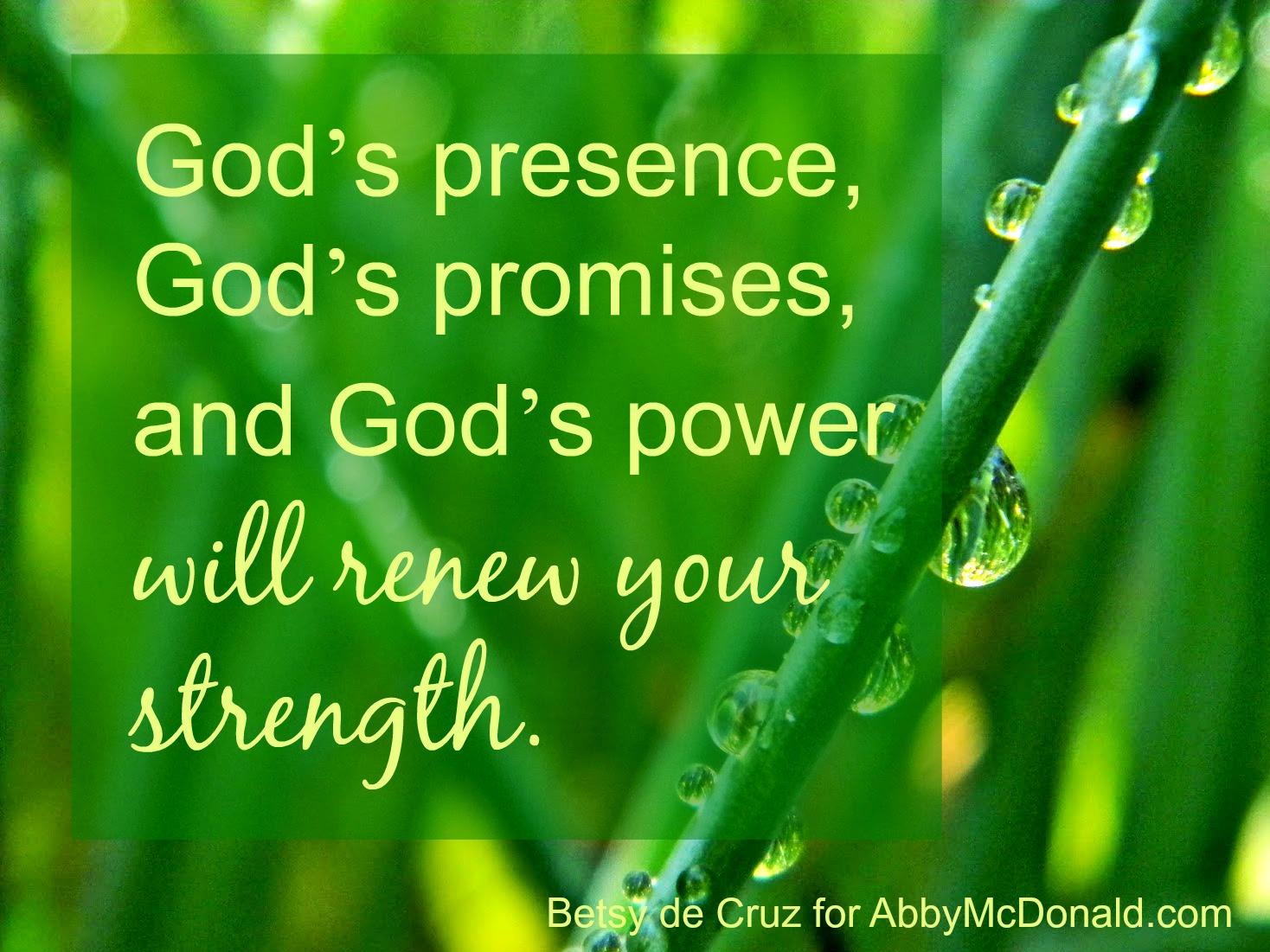 "God Power Source Plug Into Your Power Source """