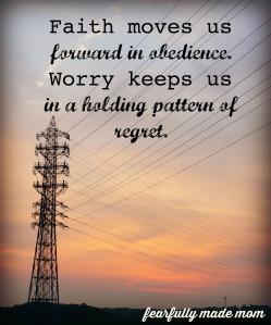 faith vs worry