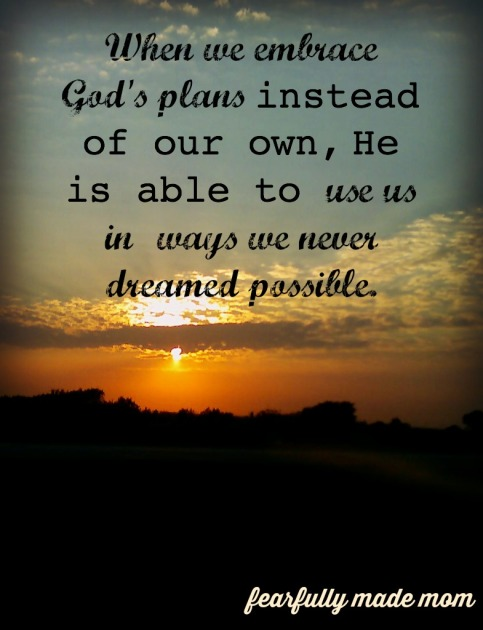 his plans