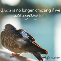 When We Dilute the Gospel of Grace (Link-up)