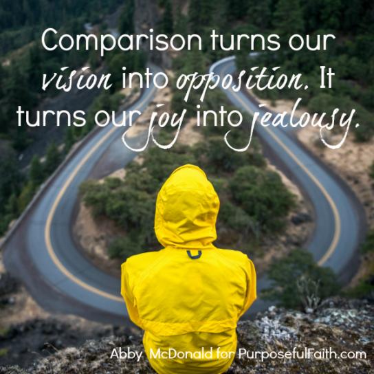 When Comparison Steals Your Purpose
