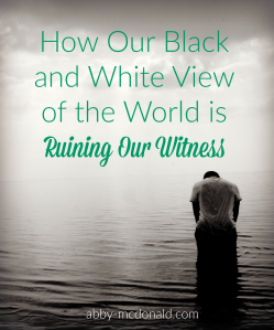 ruining our witness
