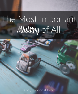 the-most-important-ministry